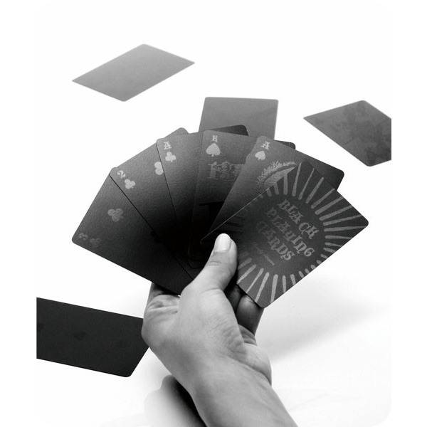 [Goody Grams]NEW BLACK PLAYING CARDS/トランプ